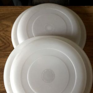 Vintage Tupperware Ultra 21 Storage Lids
